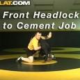 Retournement classique de lutte depuis la position de front Head lock.