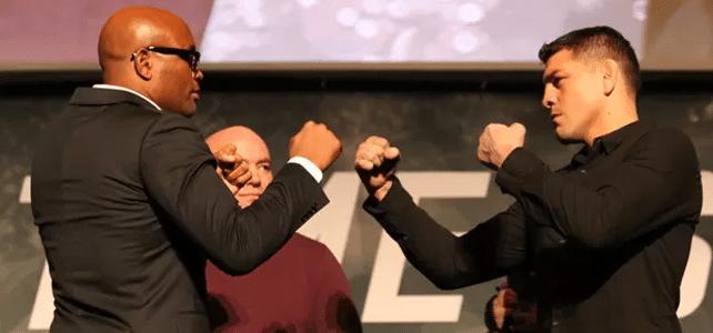 Anderson Silva et Nick Diaz face à face