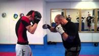 Déstabiliser son adversaire afin de placer nos frappes est une partie importante du combat.