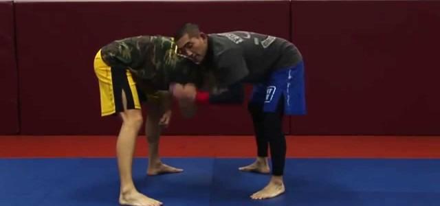 Un des rare site d'entrainement en ligne de MMA propose cette vidéo sur l'anaconda depuis la position debout.