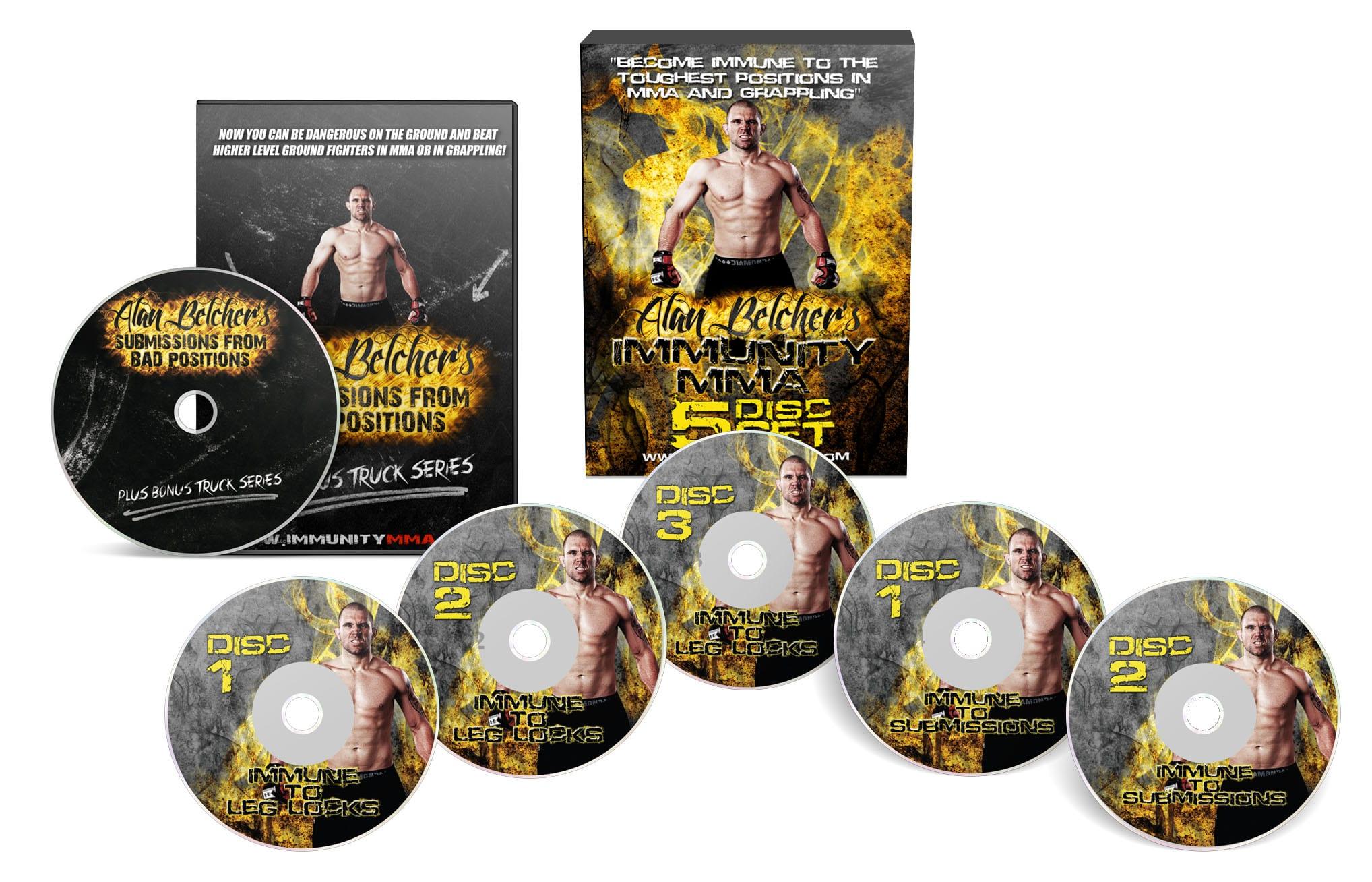 DVD grappling d'Alan Belcher