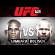 Combat de Hector Lombard contre Tim Boetsch lors de l'UFC 149